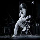 Amel Larrieux - Damrosch Park Bandshell Lincoln Center - NYC - 2014