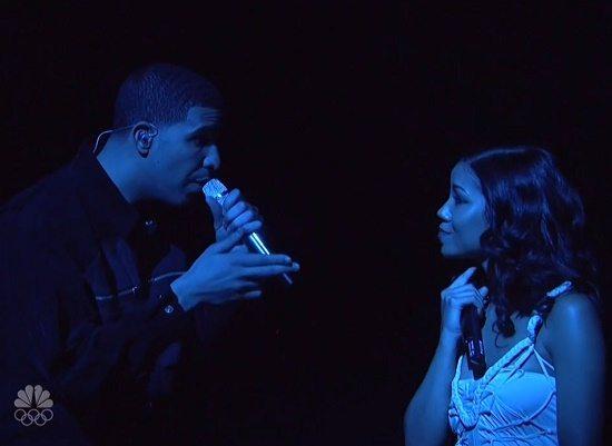 Drake Jhene Blue Light SNL
