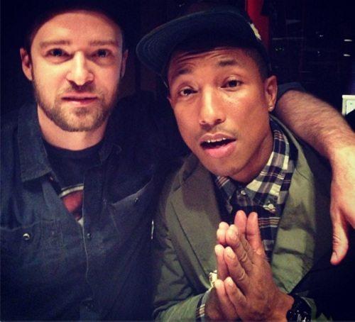 Justin Pharrell In Studio