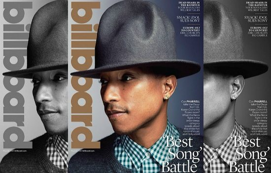Pharrell Billboard Cover