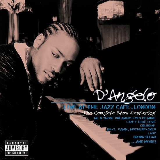 DAngelo Live Jazz Cafe Cover