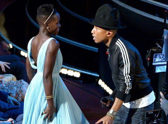 Pharrell Lupita Oscars