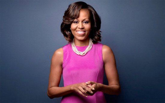michelle-obama-magenta-dress