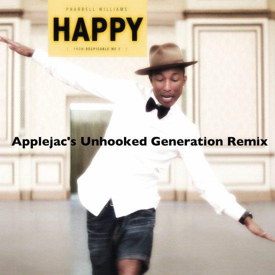 pharrell-williams-happy-applejacs-unhooked-generation-remix-cover