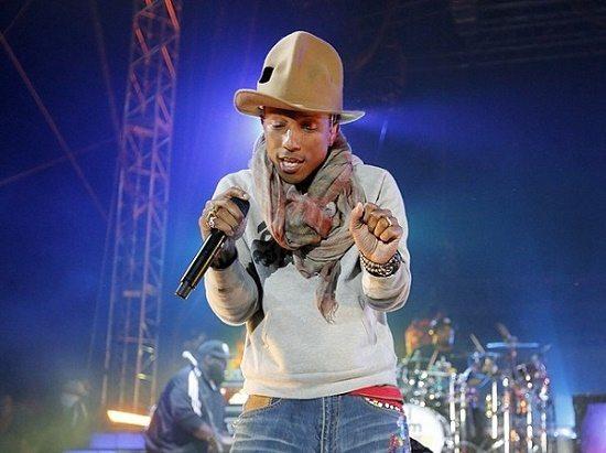 Pharrella Hat Coachella