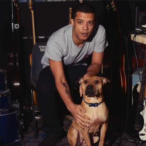 Raleigh Ritchie And Dog