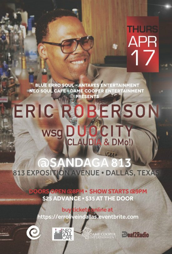 flyer-eric-roberson-dallas-sandaga