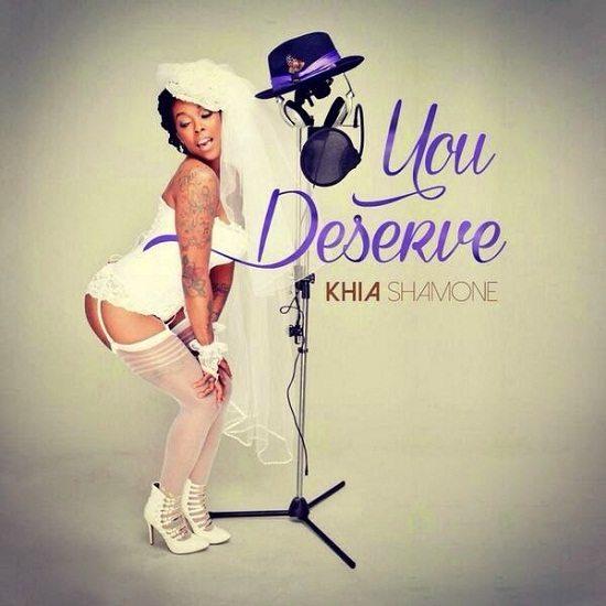 Khia You Deserve Cover