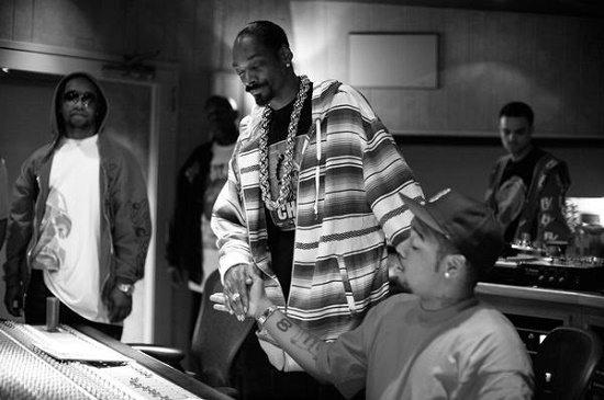 Snoop Terrace In Studio
