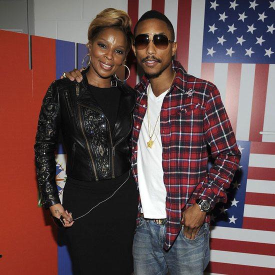 Mary J Blige And Pharrell