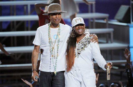 Missy And Pharrell BET AWARDS