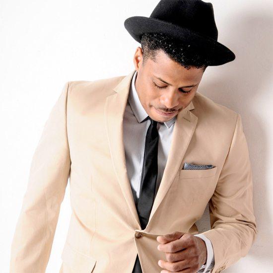 chester-gregory-black-hat-beige-jacket