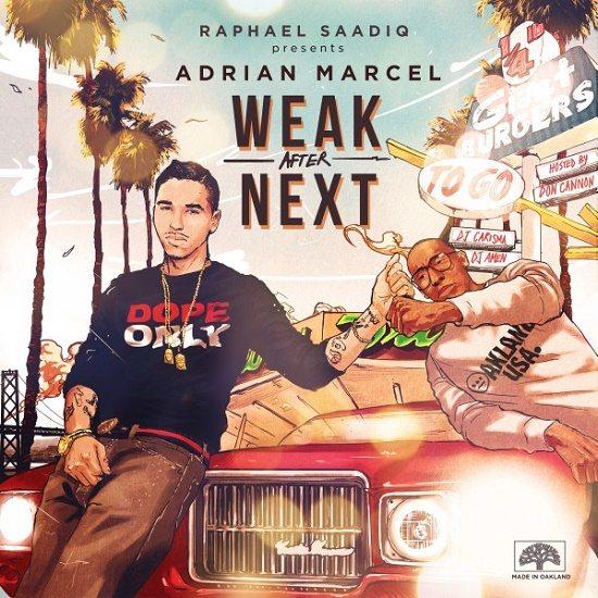 Adrian Marcel Weak After Next Cover