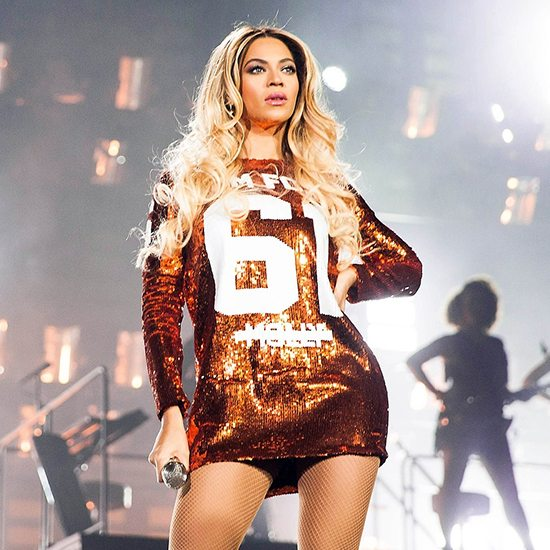 Beyonce On Stage In Tom Ford Jersey
