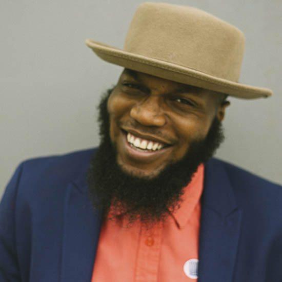 Brik Liam In Brown Hat Smiling