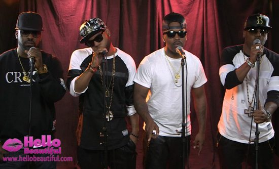 Jagged Edge Performing Hope For Hello Beautiful