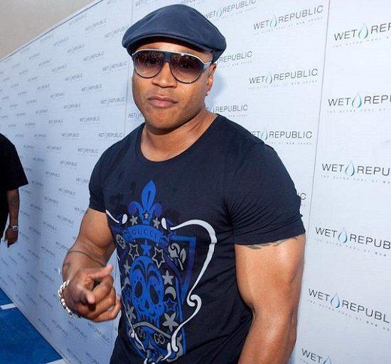 LL Cool J Blue Carpet