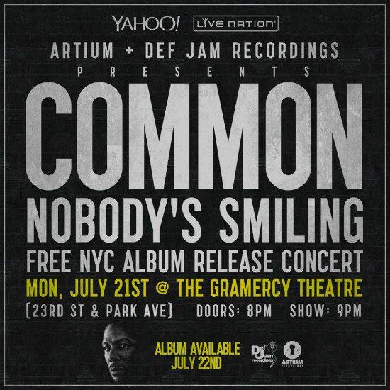 flyer-common-nobody-smiling-release-concert
