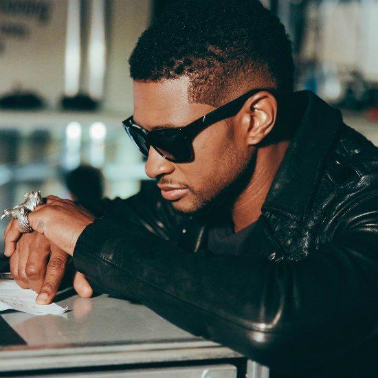 usher-sunglasses-leather-jacket