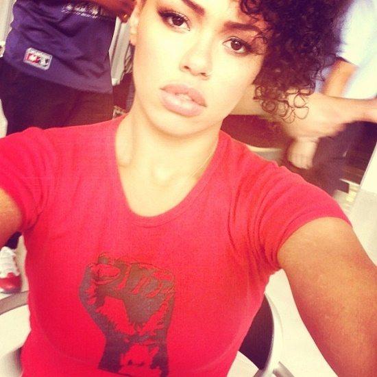 Elle Varner Black Power Fist