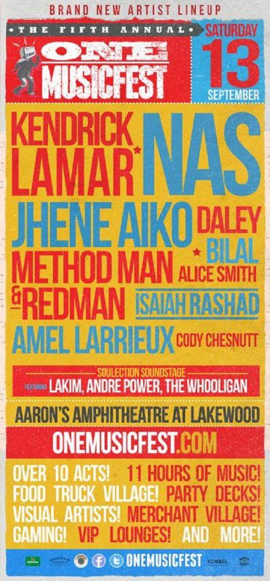 ONE Music Fest Flyer