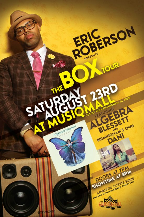 flyer-eric-roberson-algebra-blessett-musiqmall-birmingham