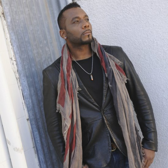 martin-luther-black-leather-jacket-scarf
