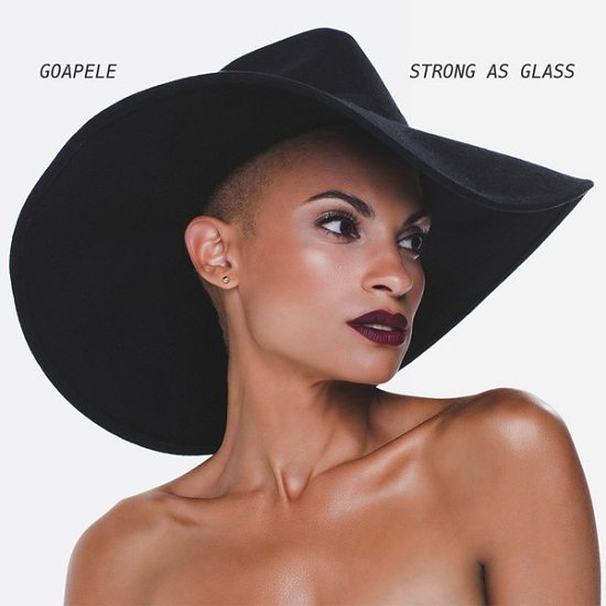 Goapele Strong As Glass Cover