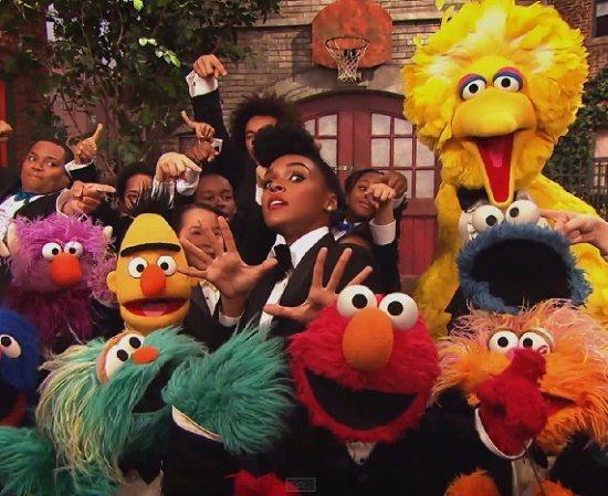 Janelle Monae Sesame Street Yet