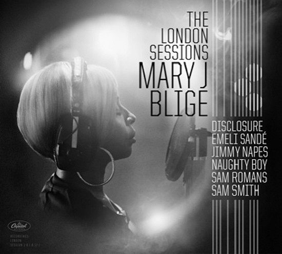 Mary J Blige London Sessions Cover