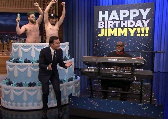 Stevie Wonder Jimmy Fallon Birthday