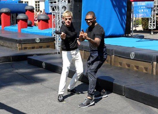 Usher-American-Ninja-Ellen-DeGeneres