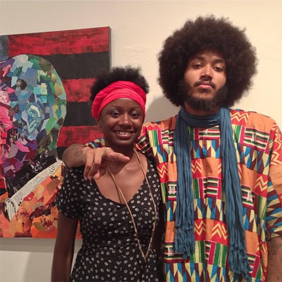 Black Fantastic At Art Gallery