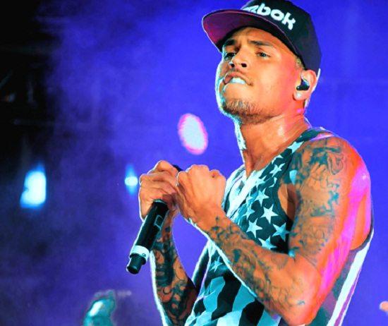 Chris Brown Black White Tank Top