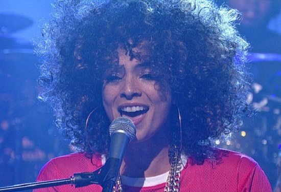 Kandace Springs Late Show Still