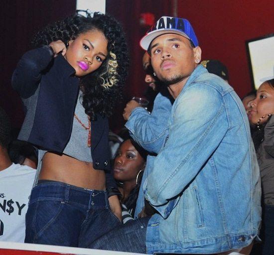 Teyana Taylor Chris Brown Denim