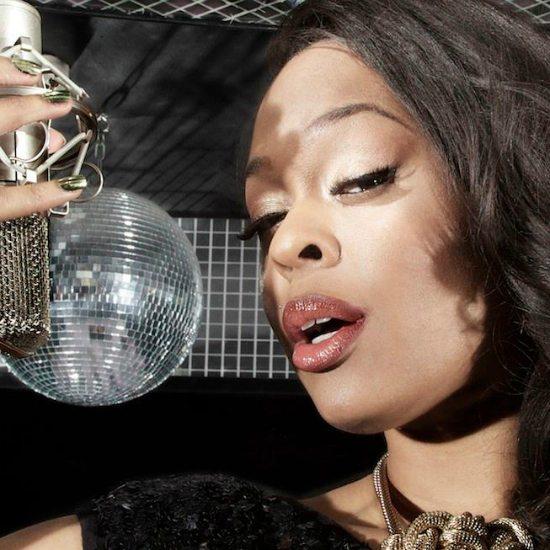 portia-monique-disco-ball-gold-mic