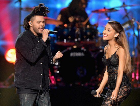 Ariana Grande The Weeknd AMAs