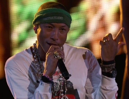 Pharrell Hunter Voice Still