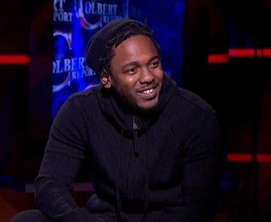 Kendrick Lamar Colbert Report