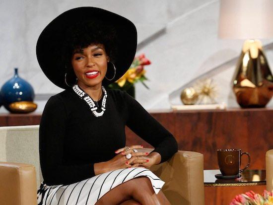 janelle-monae-queen-latifah-show-black-hat