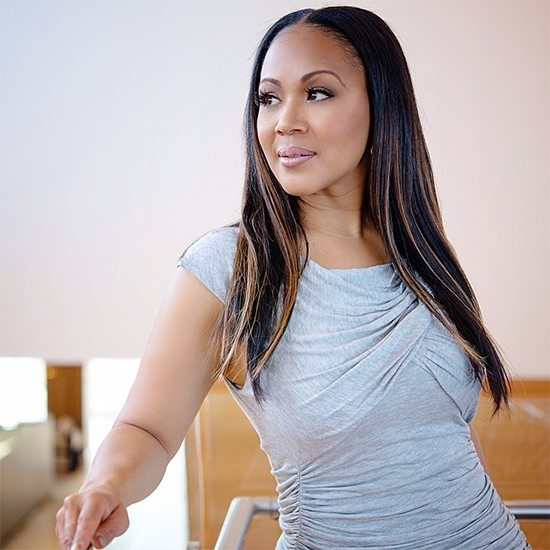Erica Campbell In Grey Shirt