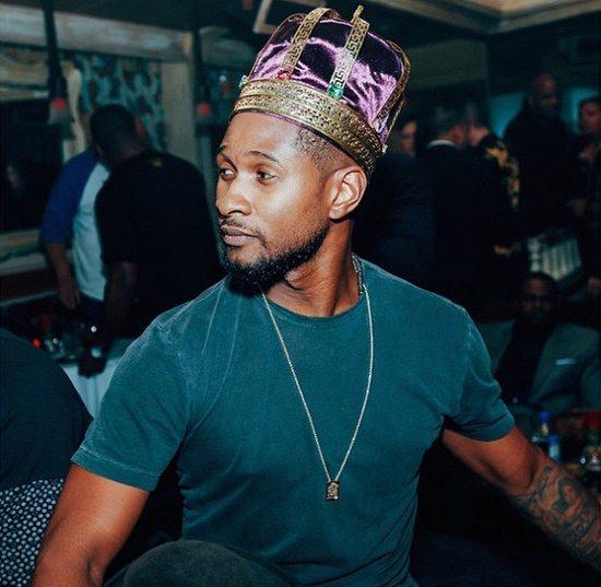 Usher Purple Crown
