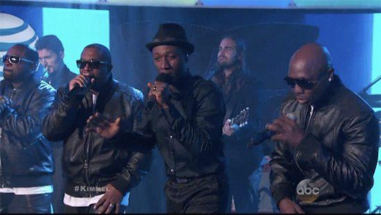 Aloe Blaccstreet On  Jimmy Kimmel Live