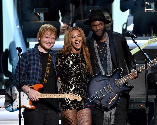 Beyonce Ed Sheeran Gary Clark Jr Stevie Tribute