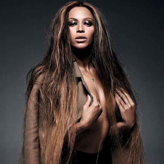 Beyonce Topless Peacoat
