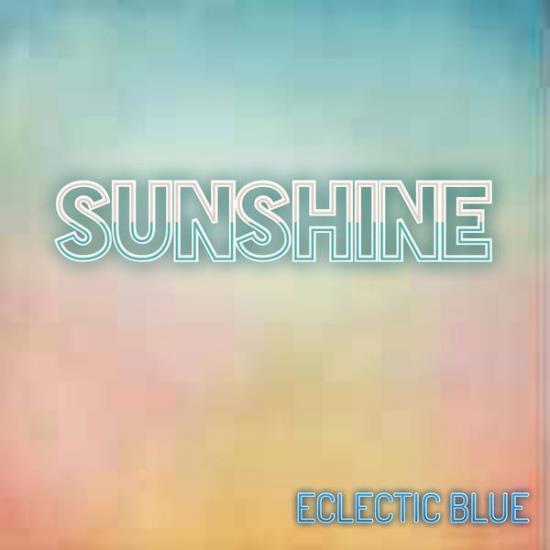 Eclectic Blue Sunshine Album Cover Art