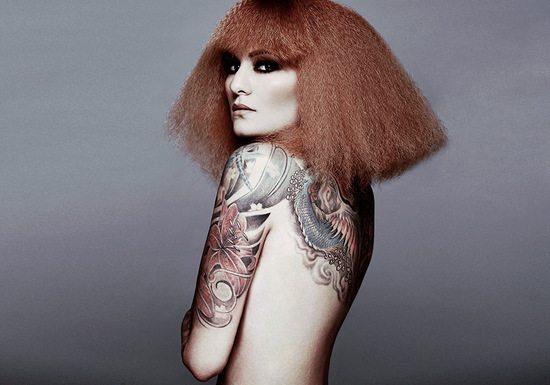 Ruth Koleva Smokey Eye and Tattoo Diliana Florentin
