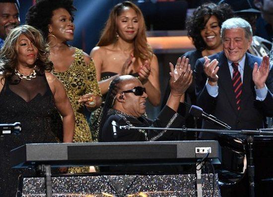 Stevie Wonder Grammy Tribute