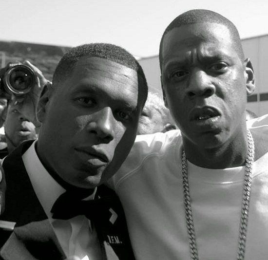 Jay Electronica Jay Z BW
